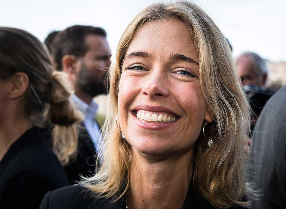 SÅ KNAPPT, MINISTERN Socialförsäkringsminister Annika Strandhäll hade inte koll på knapparna.