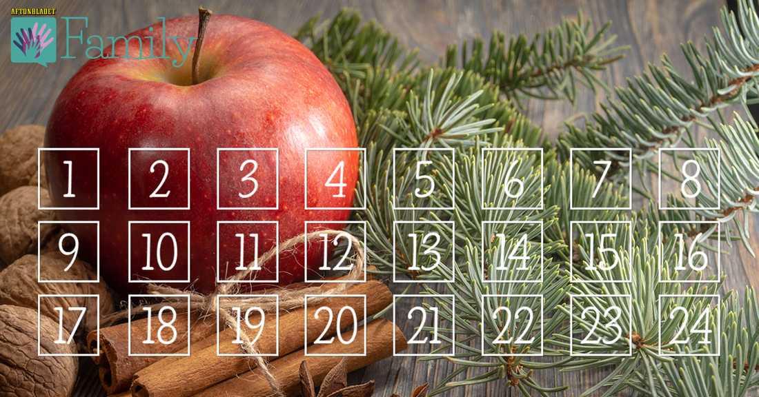 Familys julkalender, ny lucka med överraskning varje dag!