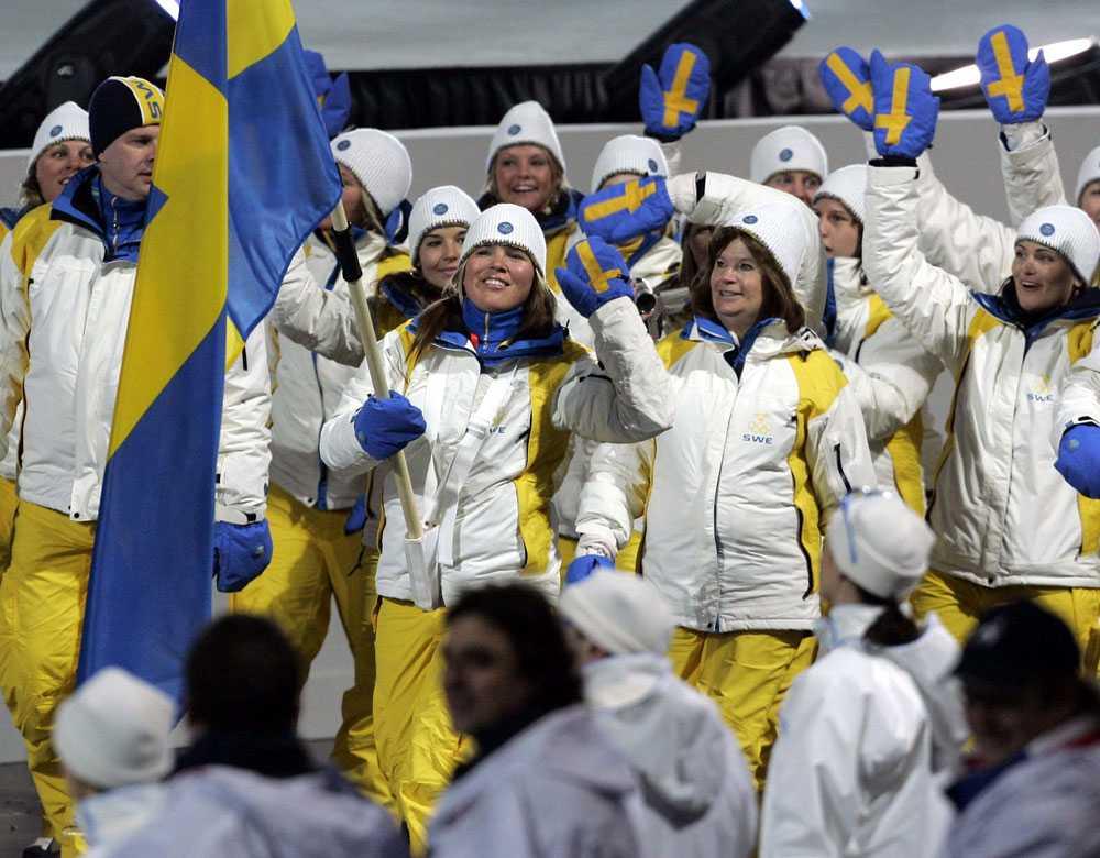 2006 i Turin: Anja Pärson, skidåkning.