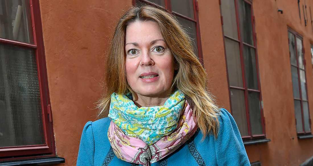"Anne Swärd, aktuell med romanen ""Jackie""."