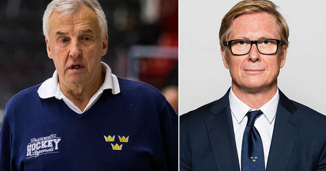 """Curt """"Curre"""" Lundmark och Tommy Boustedt."""