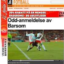 Faximil från Aftenposten.
