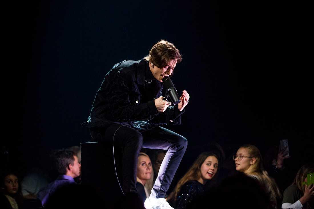 Felix Sandman i Melodifestivalens final