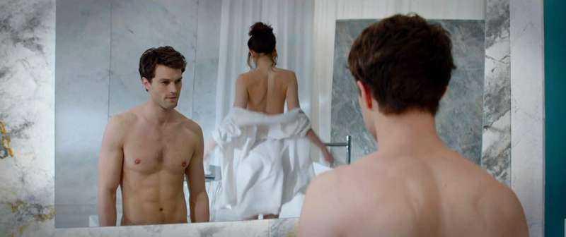 """Lagom till alla hjärtans dag har """"Fifty shades of Grey"""" premiär."""