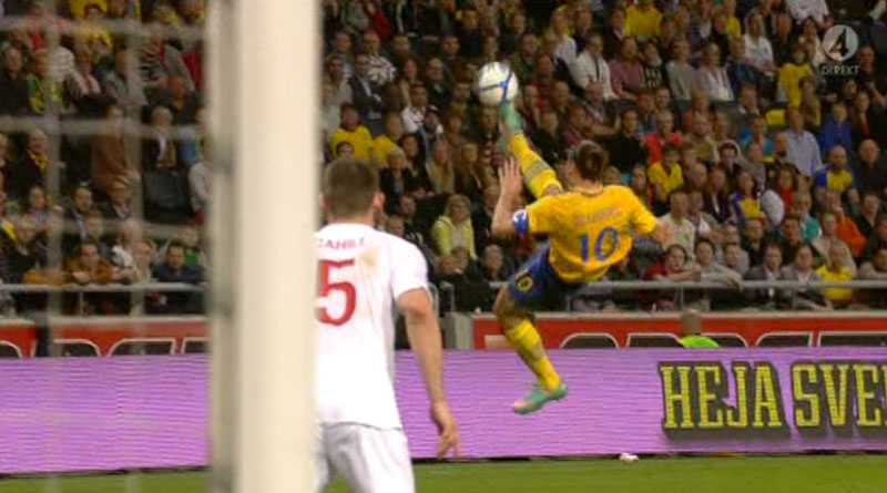 """""""Jag förstår inte hur han gjorde det"""", säger Henrik Larsson om målet."""