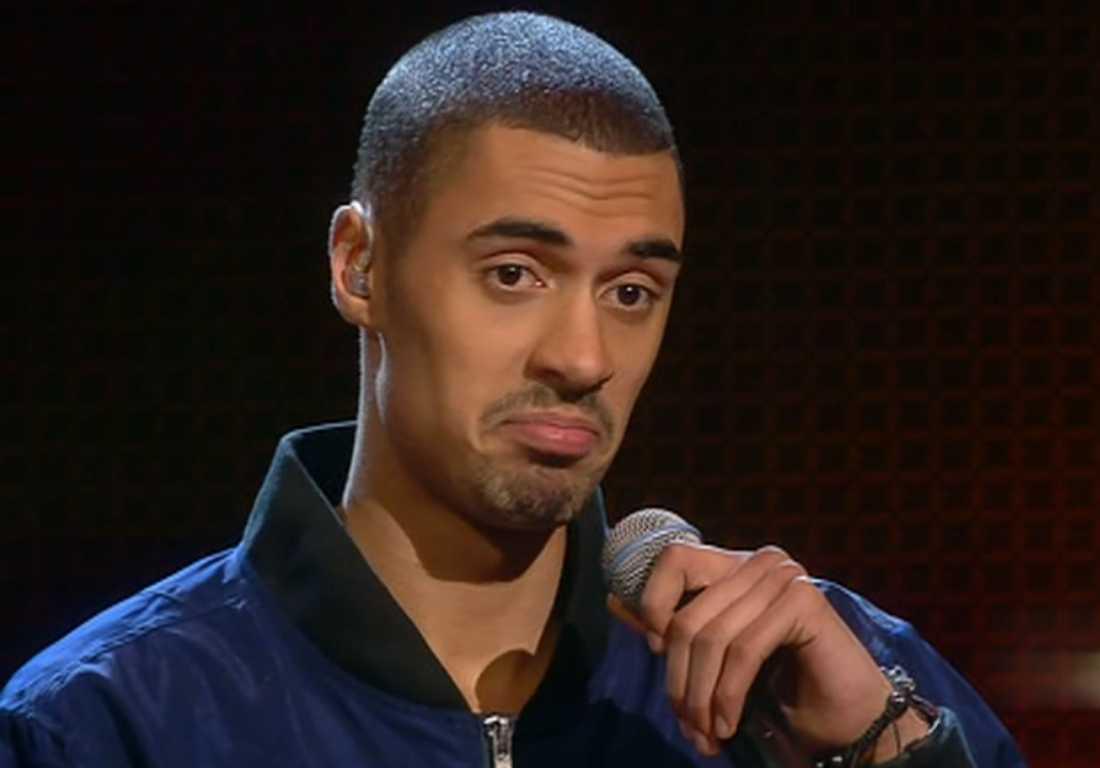 """Malcolm blev utröstad i senaste """"X-factor""""."""