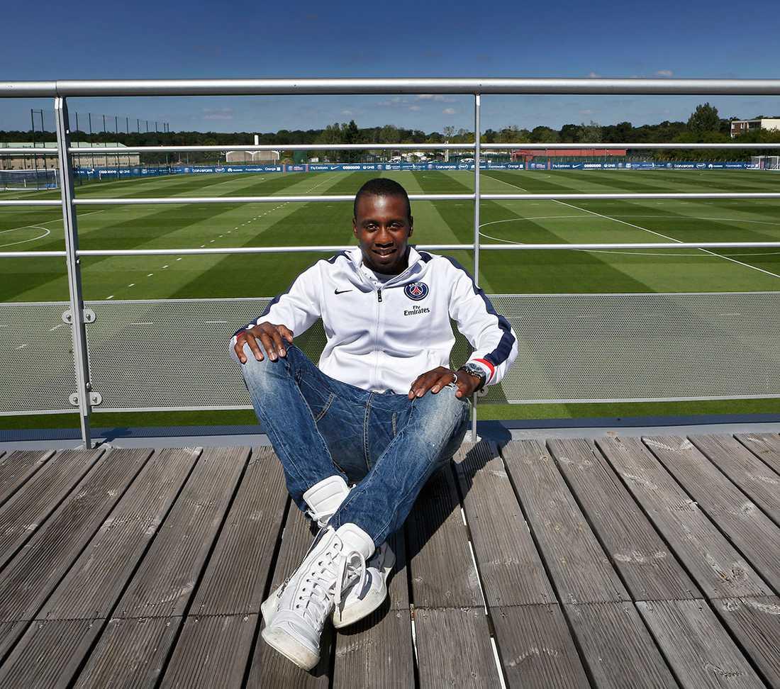 Sportbladet träffade Blaise Matuidi på PSG:s träningsanläggning.