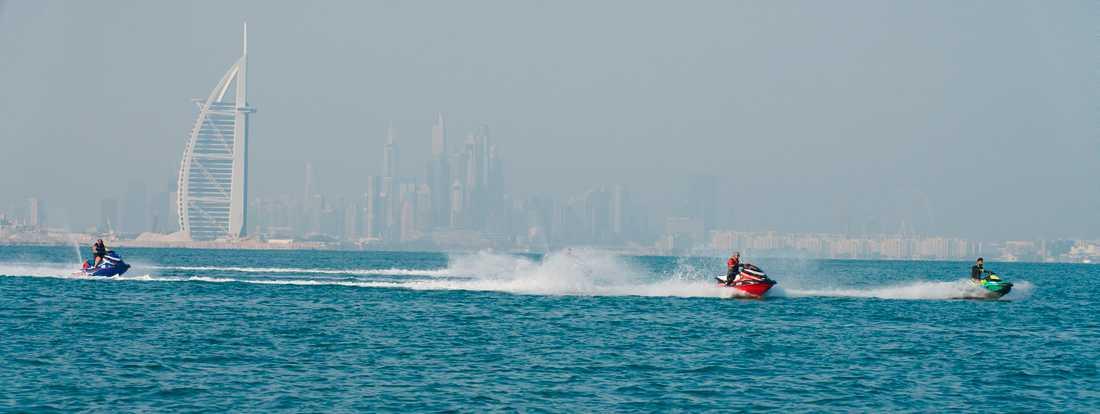 Nu hälsas turisterna välkomna tillbaka till Dubai. Arkivbild.