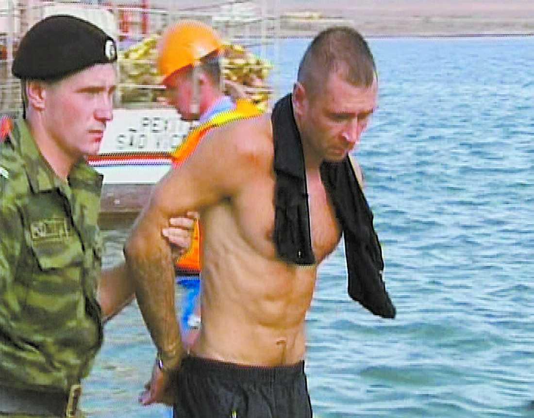 En av de misstänkta från Arctic Sea.
