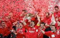 MÄSTARJUBLET Liverpool får kvala in till Champions League i höst.