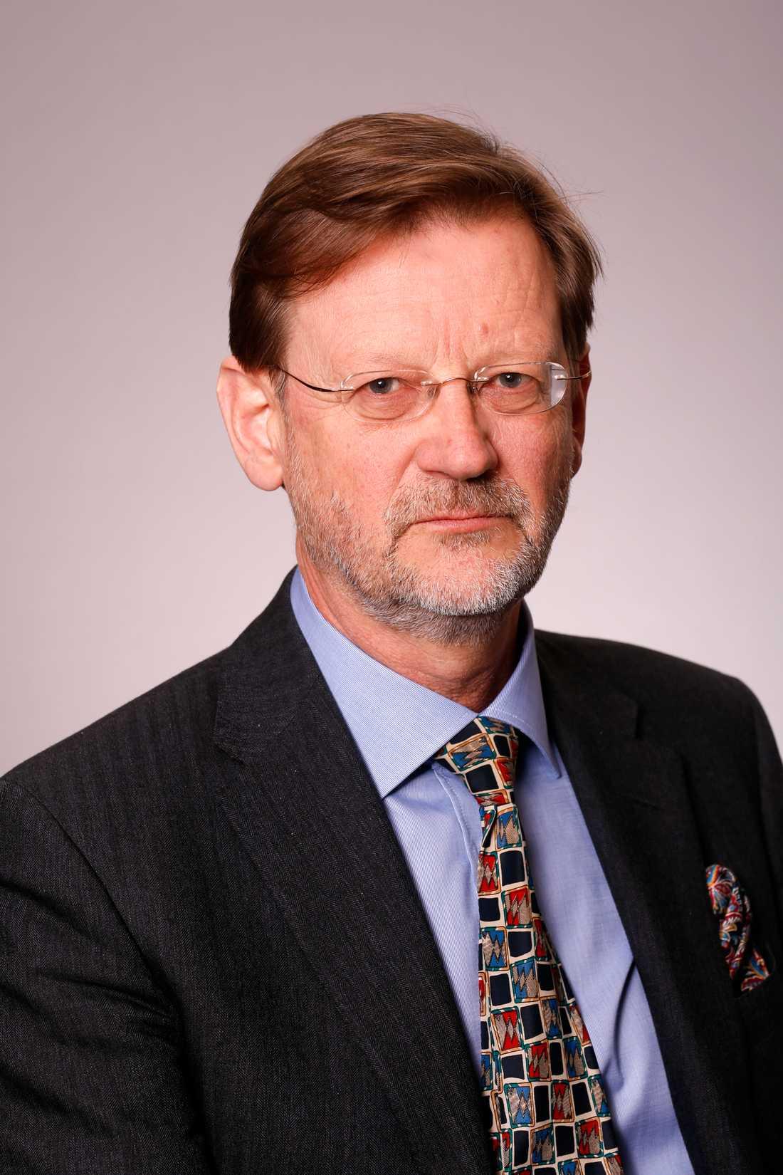 Nils Svartz, vikarierande generaldirektör för MSB.
