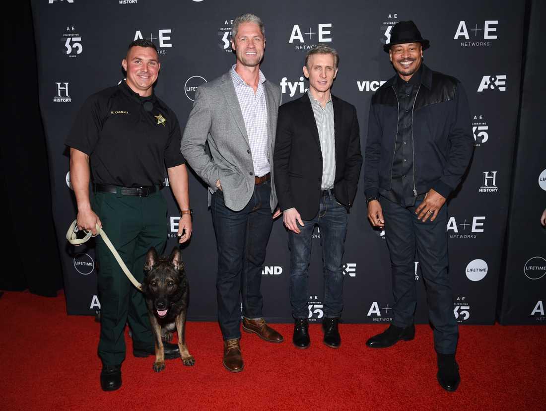 """Nick Carmack, Sean Larkin, Dan Abrams och Tom Morris Jr. medverkar alla i polisserien """"Live PD""""."""