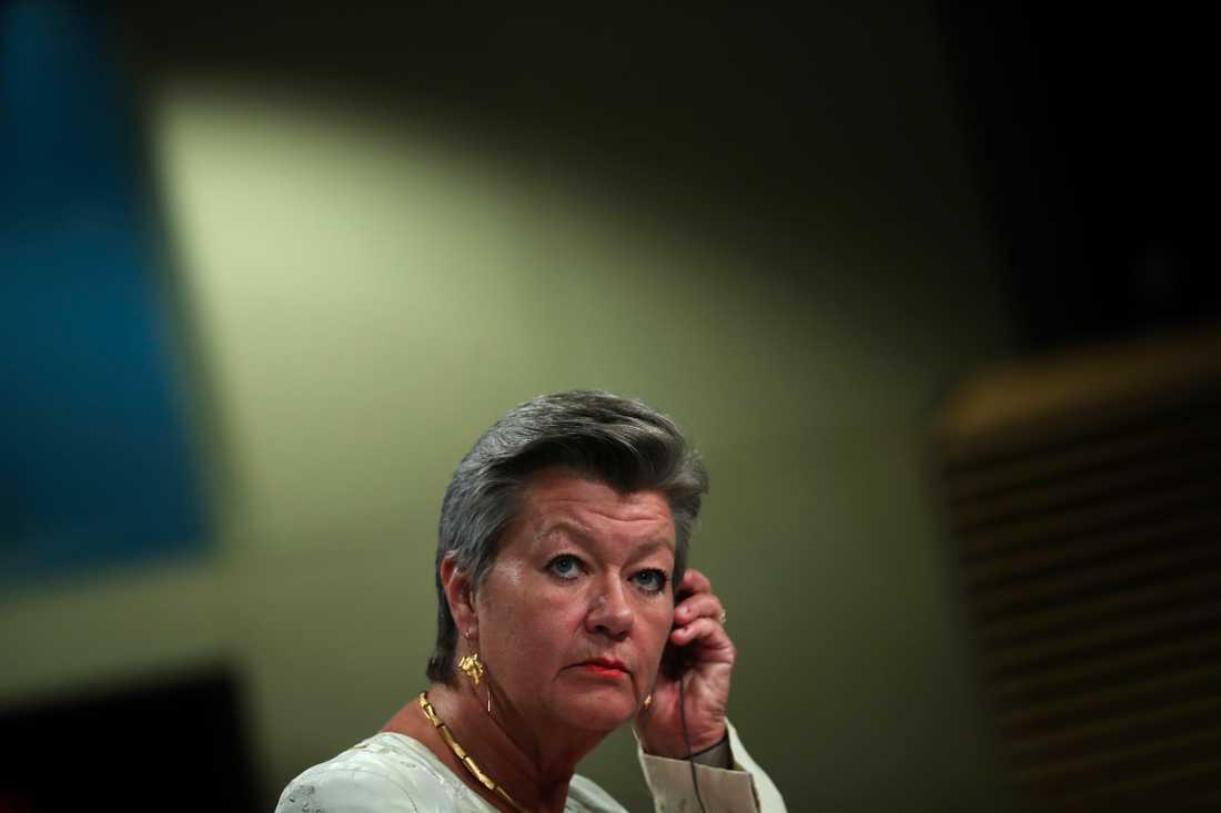 Tidigare arbetsmarknadsministern Ylva Johansson (S) säger att hon bad Arbetsförmedlingen analysera konsekvenserna av att lägga ned 132 kontor före beslut. Men generaldirektören lyssnade inte och det behövde han heller inte, enligt Johansson. Arkivbild.