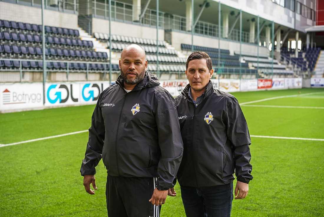 Ken Ring och Carlos Banda.