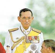 Kung Bhumibol Adulyadej.