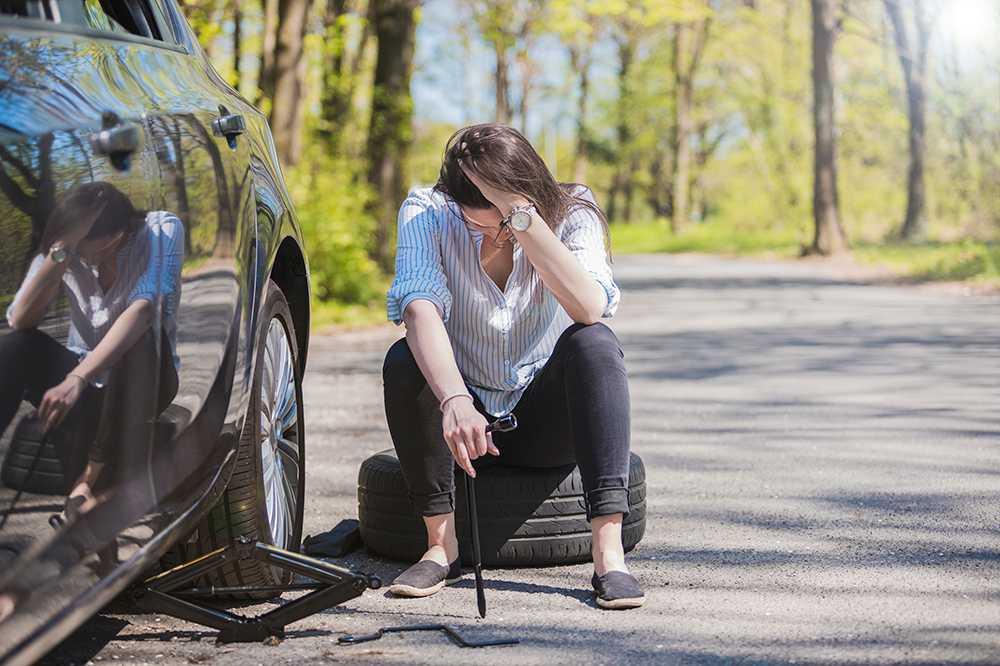 Att montera däcken fel är en dålig idé.