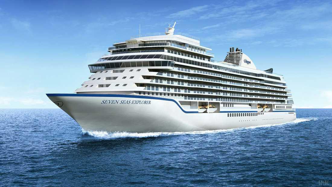 Seven Seas Explorer har premiär i juli 2016.