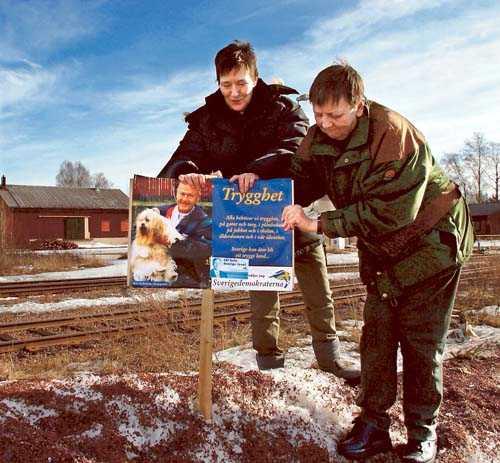 Nyval i Orsa Sverigedemokraterna varnar för att tillåta kommunala nyval. 2003 ökade partiet i Orsa efter ny röstning.