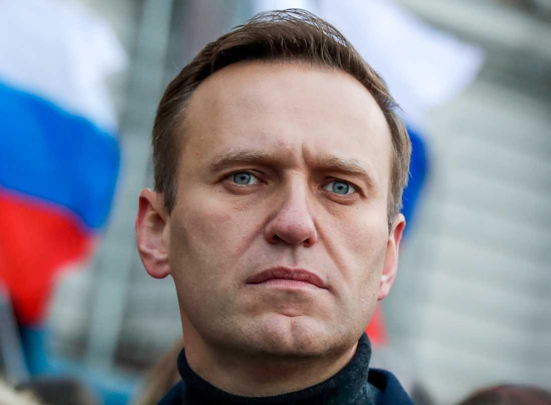 Den ryske regimkritikern Aleksej Navalnyj. Arkivbild.