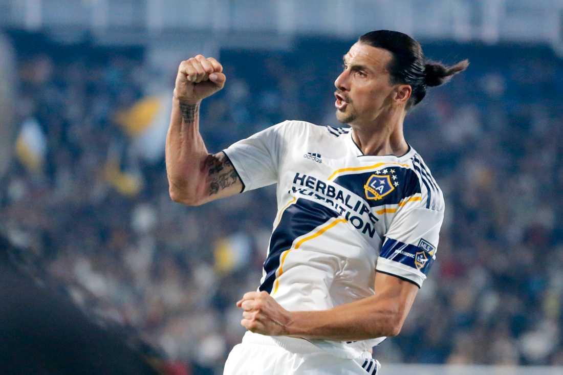 """""""Jag är väldigt glad över att min staty kommer att stå i Malmö. Det var min önskan från allra första början"""", säger LA Galaxy-anfallaren Zlatan Ibrahimovic."""
