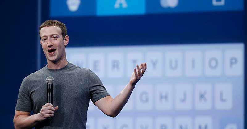 Mark Zuckerberg, grundare av Facebook, aviserar förändringar av plattformens flöden.