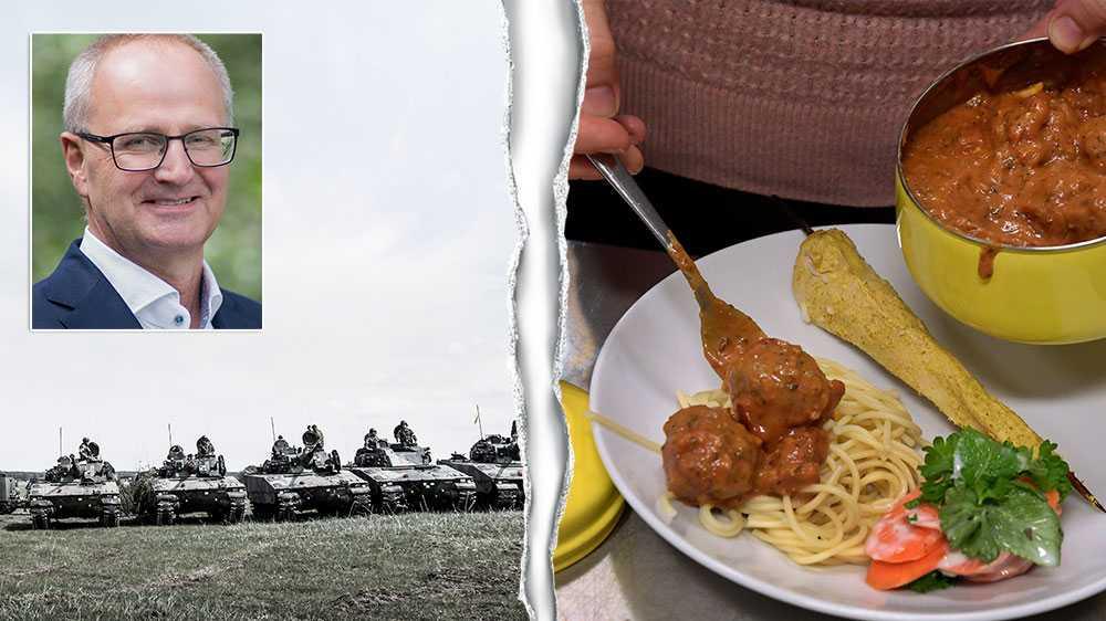 I teorin kan Sveriges bönder producera tillräckligt mycket mat för att hålla svälten borta,om kriget kommer och all import skulle stoppas.Men om det skablimöjligt i praktiken behöver en hel del förändras, skriver  Palle Borgström, förbundsordförande LRF.