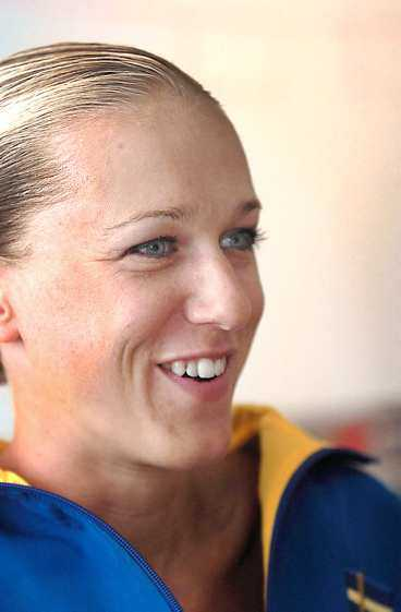 Idag tävlar Kajsa i Sverige för första gången sedan hon skadade sig.