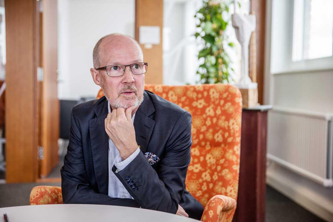 Mats Gerdau (M), kommunstyrelsens ordförande i Nacka.