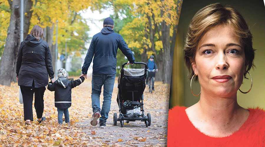 När män och kvinnor inte behöver välja mellan arbete och karriär eller familj, då väljer man båda, skriver Annika Strandhäll.
