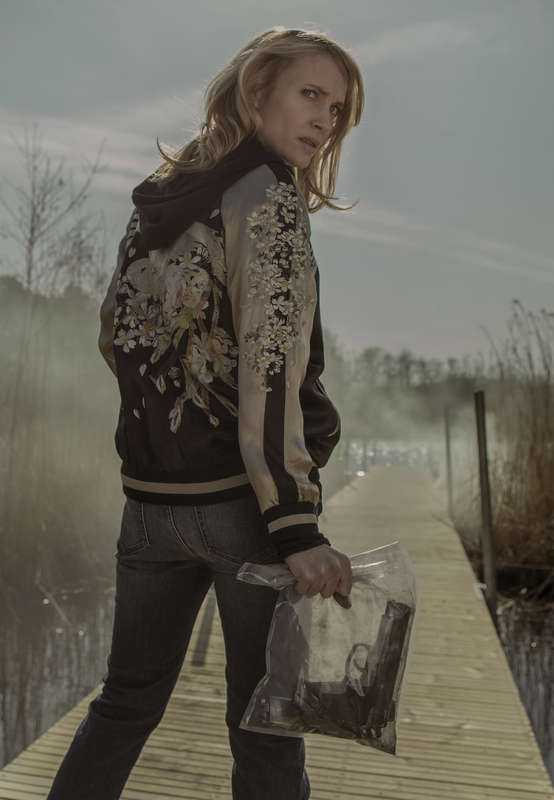 """FINA TITTARSIFFRORMoa Gammel spelar Eva Thörnblad i """"Jordskott"""". Serien har haft succésiffror på cirka 1,5 miljoner under den första säsongen.Foto: Pelle Hallert/SVT"""