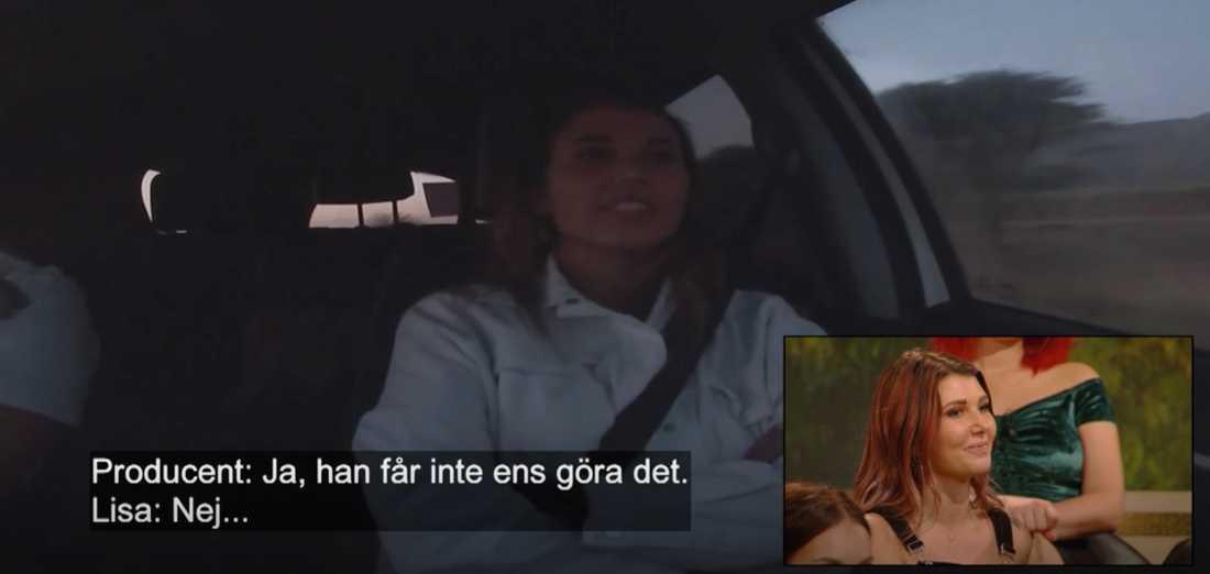 Lisa Englund i Bachelor är en av de som blev kontaktade.