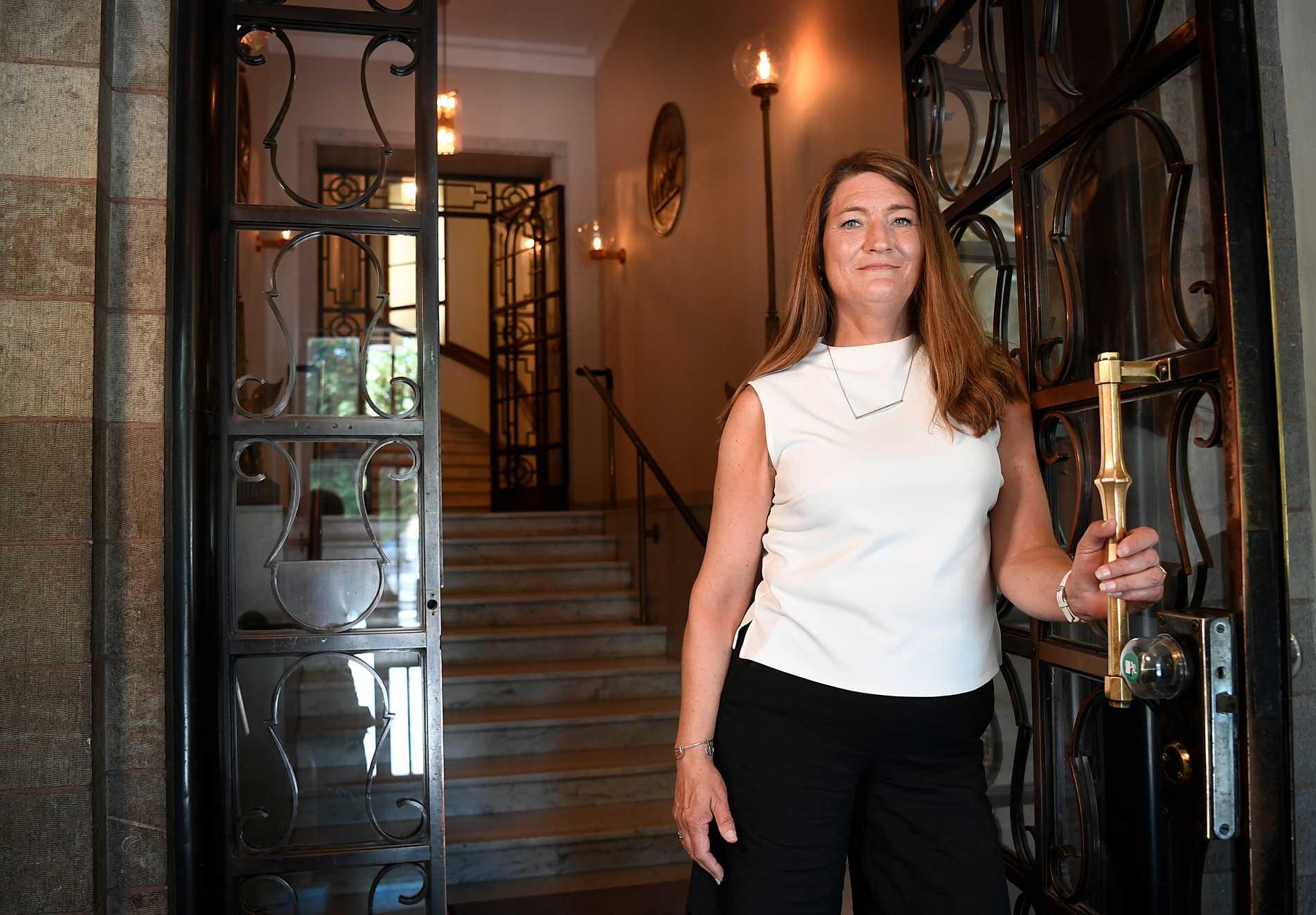 """""""Vi hade det jävligt knapert"""", säger Susanna Gideonsson."""