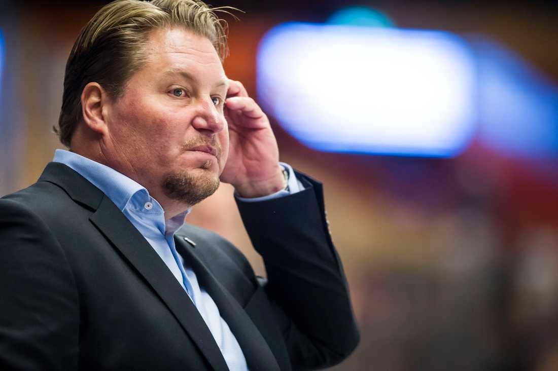 Mariestads karismatiske tränare Andreas Appelgren.