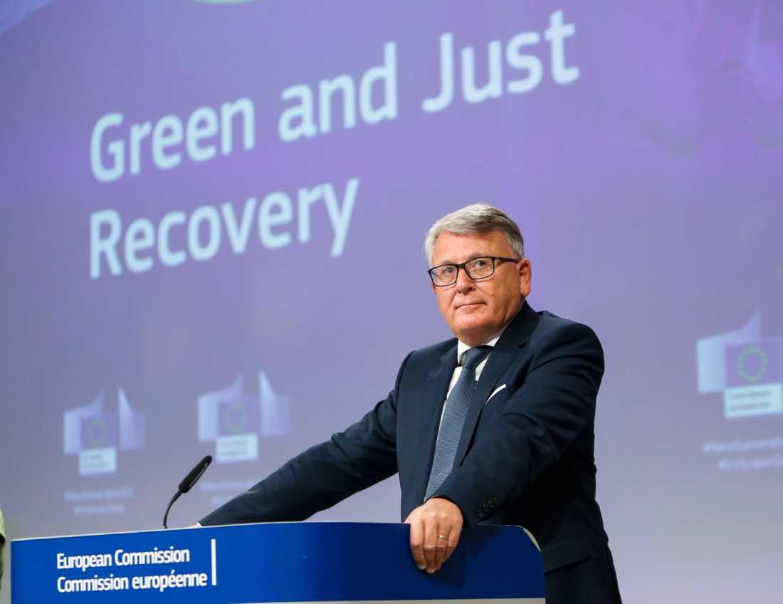 Nicolas Schmit från EU-kommissionen