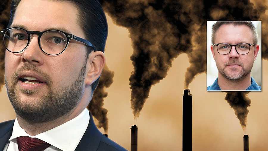 Åkesson upprepar gång på gång att klimatet är en fråga som måste lösas internationellt. EU är den bästa arenan för oss svenskar att påverka internationellt – men där gör SD ingenting, skriver Fredrick Federley.