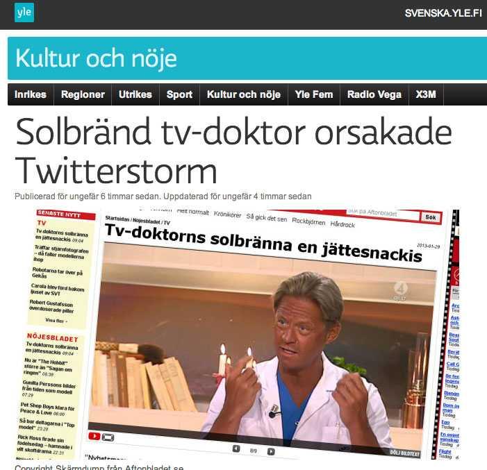 Finska public service-kanalen YLE.
