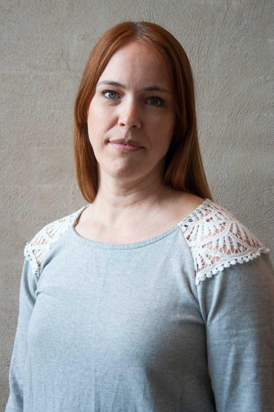 Sophia Willander, ordförande i Polisförbundets region Syd