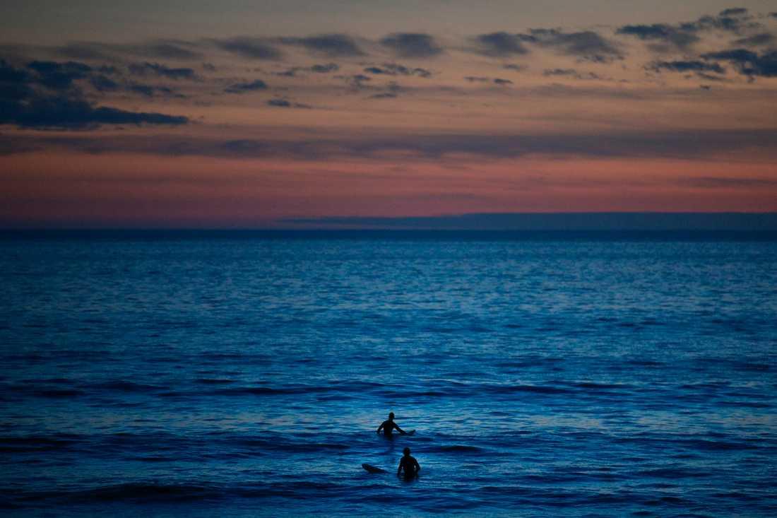 Stilla havet är världens största ocean. Den täcker en tredjedel av jordens yta. Arkivbild.