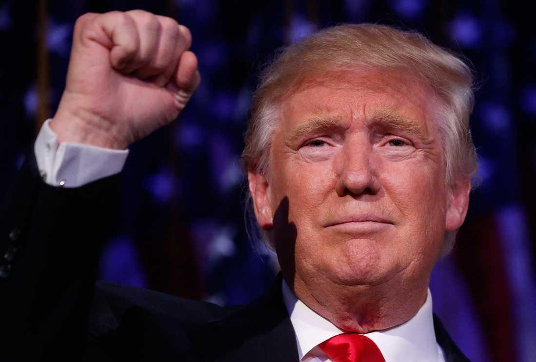 """""""Det som får människor att rösta på en person som Donald Trump är inte i första hand att han är en fantastisk politiker"""" säger SD-ledaren Jimmie Åkesson."""
