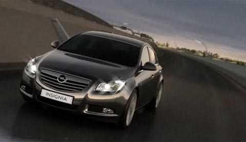 Årets bil 2009 Opel Insignia