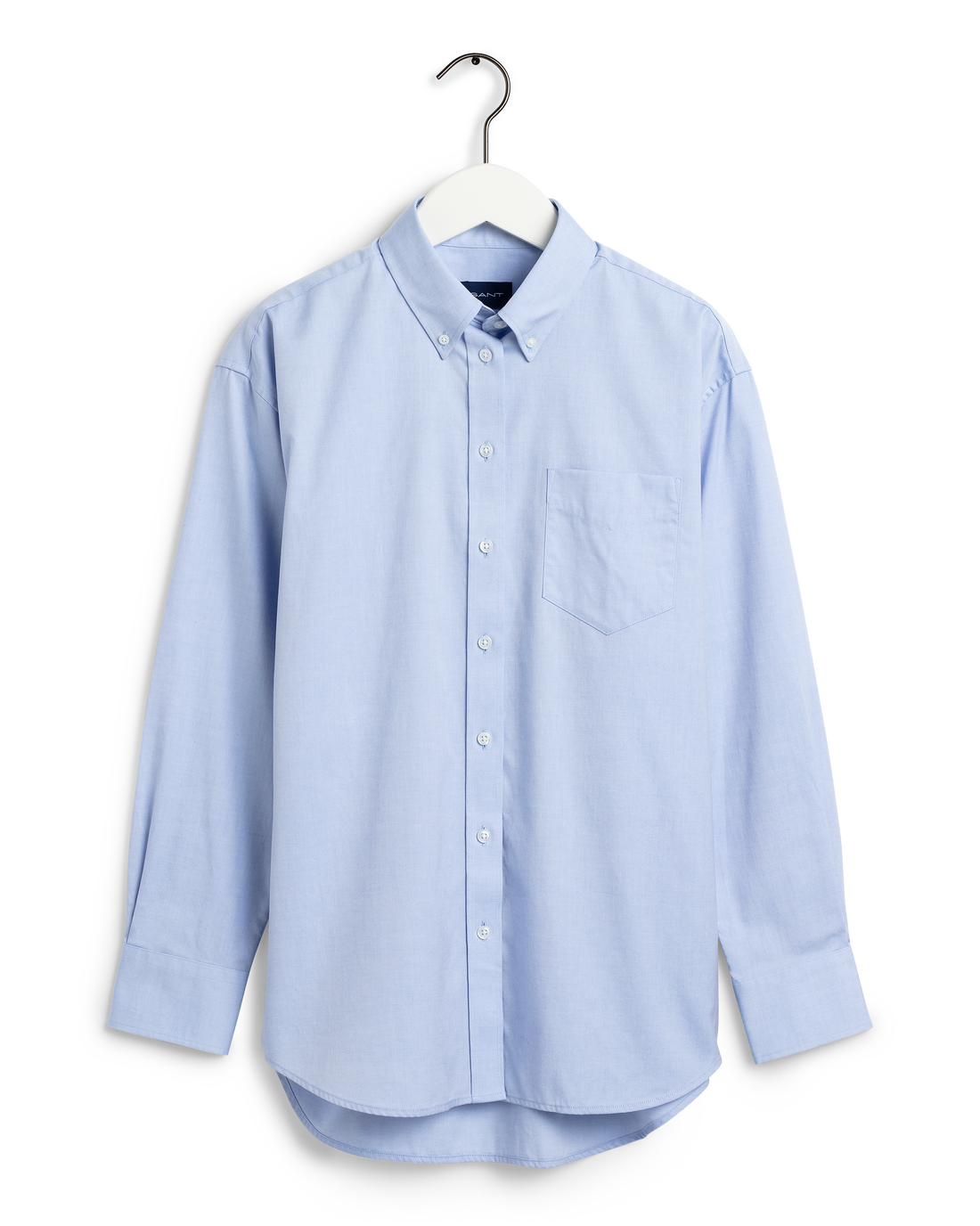 Ljusblå skjorta med button down-krage, 999 kronor, Gant.