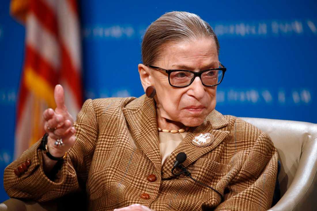Ruth Bader Ginsburg. Arkivbild.
