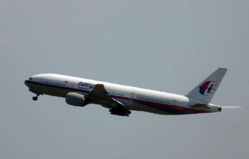 MH17 lämnar flygplatsen i Schiphol … och blir senare nedskjutet över Ukraina.