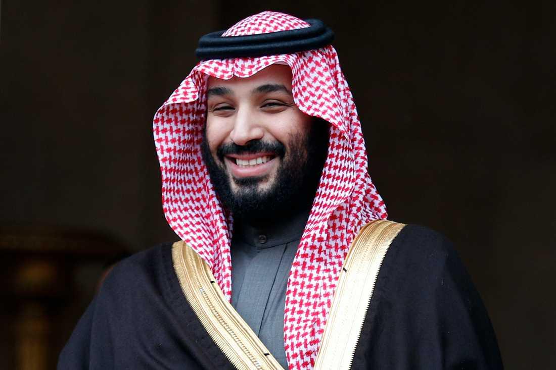 Saudiarabiens kronprins Mohammed bin Salman.