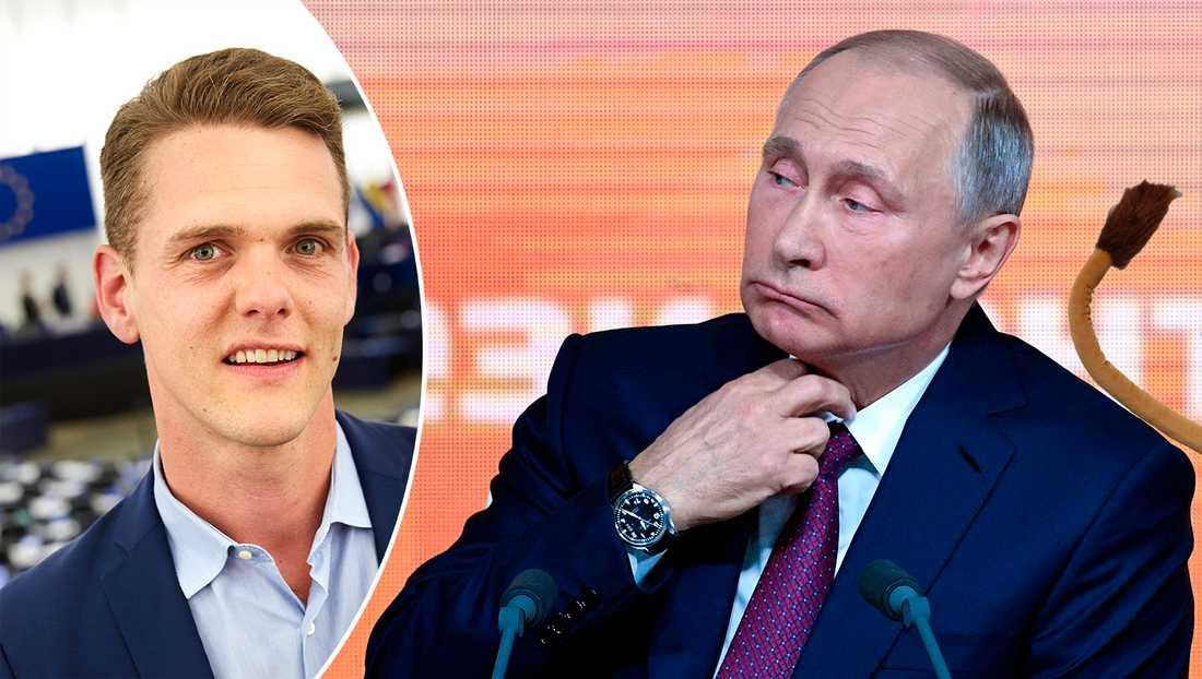 Genom att skicka ut sina trollarméer försöker Ryssland kväva all kritisk debatt om landet, skriver debattören.