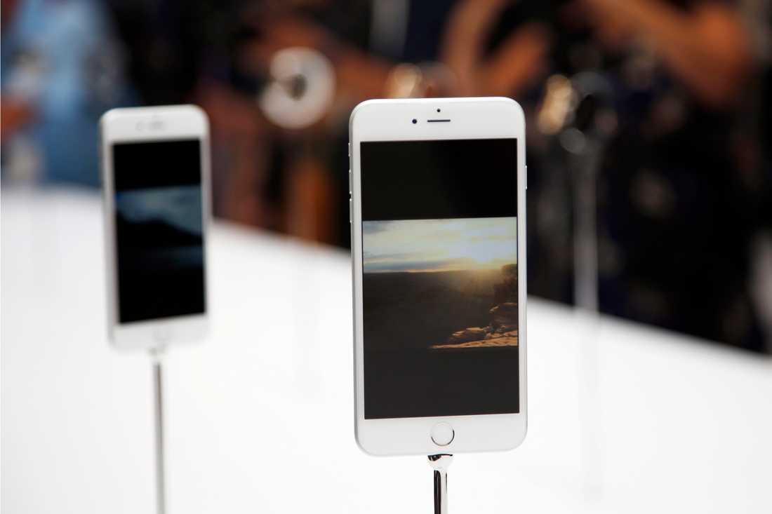 Även Apples iphones har haft stora problem efter en uppdatering i samband med lanseringen av ihpone 6. Problem som nu ska vara lösta.