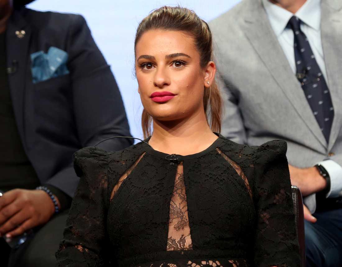 """""""Glee""""-stjärnan Lea Michele ber nu om ursäkt efter anklagelserna om att ha mobbat sina kollegor."""