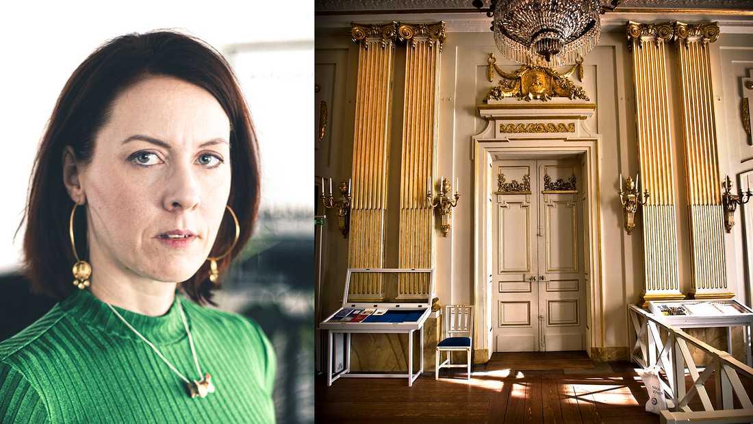 Bildningens högborg: Bakom dörrarna har Svenska Akademien sina möten.