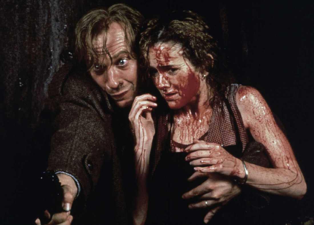 """Ted Levine i filmen """"The mangler"""". Han spelade Buffalo Bill mot Jodie Foster i """"När lammen tystnar"""" (1991)."""