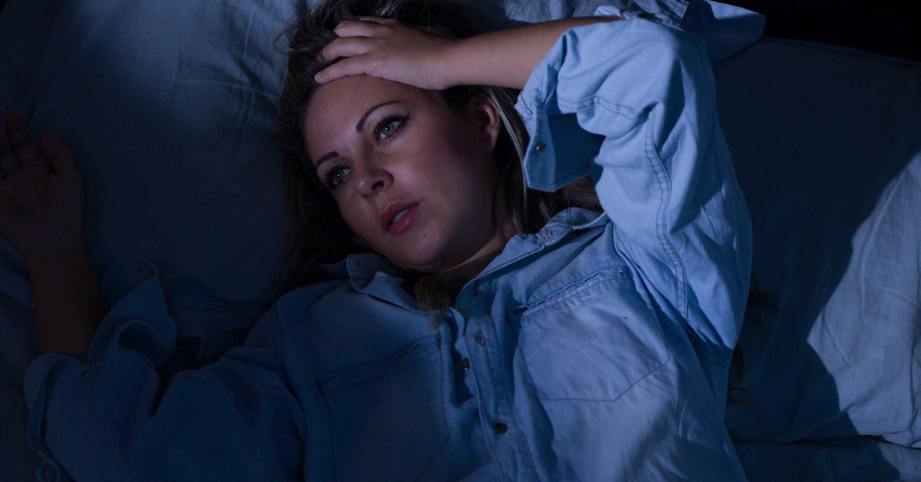 svettas extremt mycket på natten
